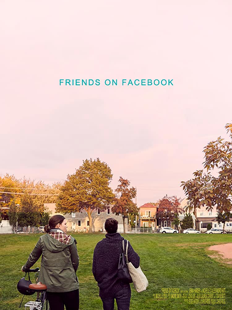 Friends on Facebook poster