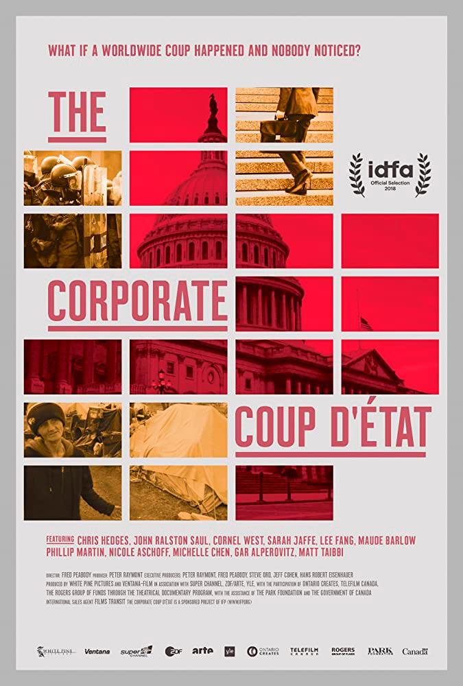 The Corporate Coup D'État poster