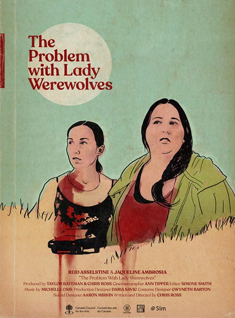 The Problem with Lady Werewolves poster